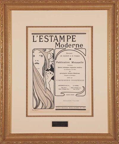 Alphonse Mucha, 'L'Estampe Moderne Frontispiece', ca. 1898-1899