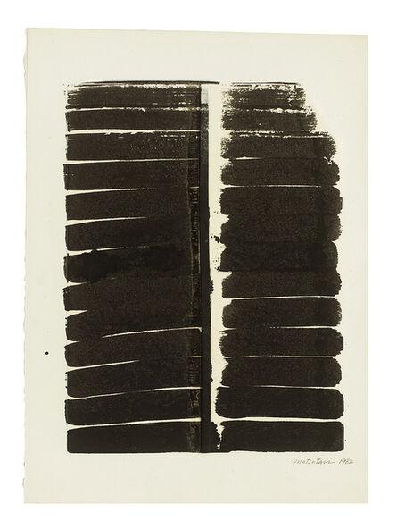 Takesada Matsutani, 'untitled', 1982