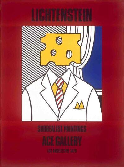 Roy Lichtenstein, 'Surrealist Paintings (Cheese Head)', 1978