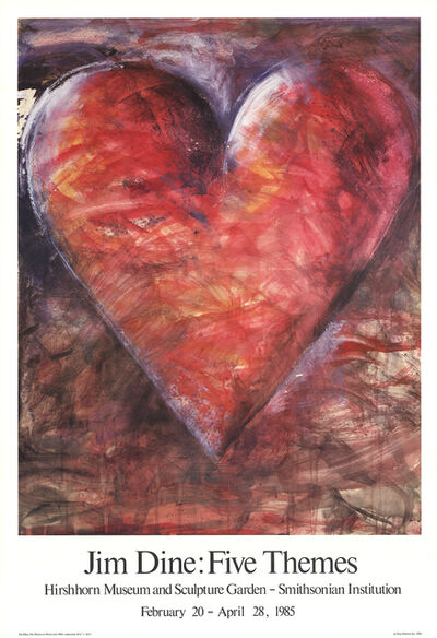 Jim Dine, 'The Minnesota Watercolor', 1985