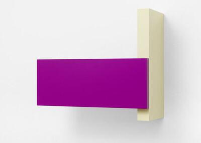 Gerwald Rockenschaub, 'MDF, lacquer, 2 parts, 45 x 50 x 23 cm', 2009