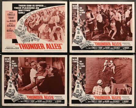 Anon, 'THUNDER ALLEY 8 Lobby Cards 1967 Annette Funicello, Fabian, car racing, lots of fighting!', 1967