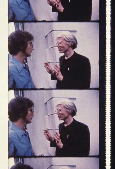 Jonas Mekas, 'John Lennon and Andy Warhol at Klein Party', 2013