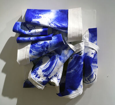 Bette Klegon Halby, 'Out of the Blue – Water is Life #8', 2016