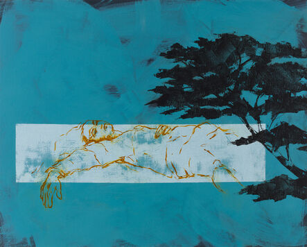 Shelly Tregoning, 'Under the Macrocarpa Tree', 2017