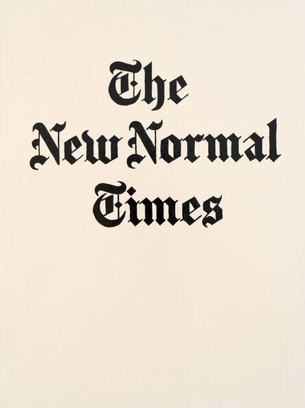 Eike König, 'THE NEW NORMAL TIMES', 2020
