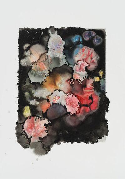 """Joachim Schulz, '""""Blumenbukett in einer Glasvase"""" nach Nicolas van Veerendael 1662 5/9', 2017"""