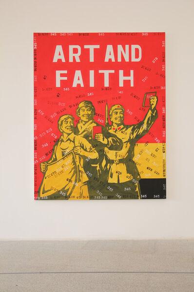Wang Guangyi 王广义, 'Great Criticism - Art and Faith', 2006