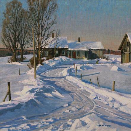 TM Nicholas, 'Cold Hollow Farm', 2019