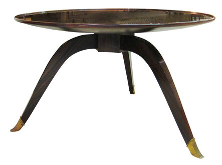 """Jacques-Emile Ruhlmann, '""""Bas Ducharne"""" table', ca. 1926"""