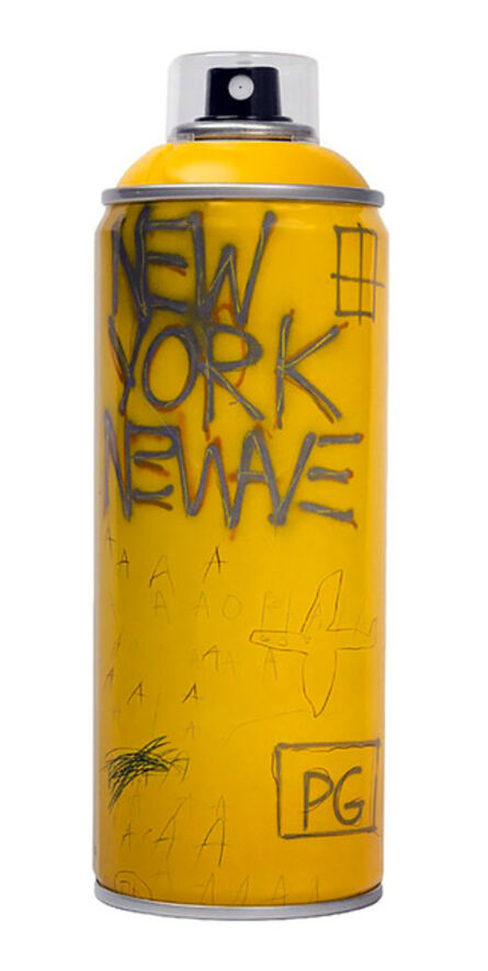 Jean-Michel Basquiat, 'Limited edition Basquiat spray paint can, 2018', 2018