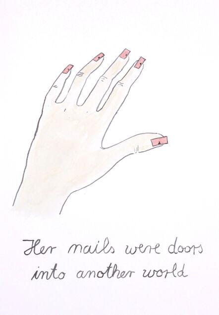 Markus Vater, 'Nails', 2017