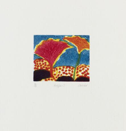 William Crozier, 'Poppies I', c.1994