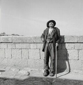Tony Vaccaro, 'Old Man, Bonefro, Italy, 1946'
