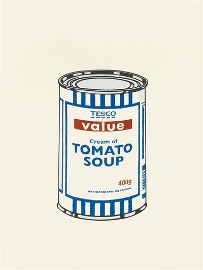Banksy, 'Soup Can (Original Colour) - Unsigned', 2005