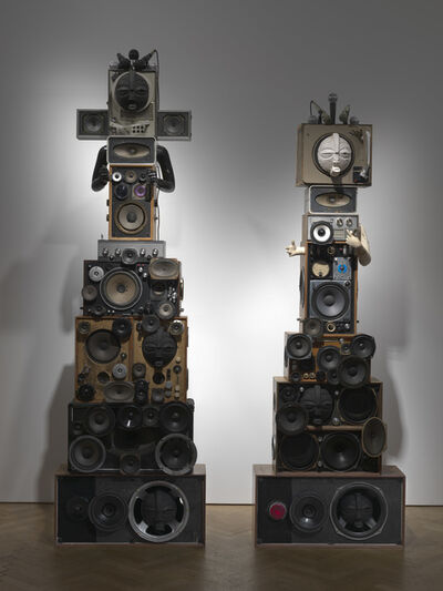 Zak Ové, 'The Upsetters: King and Queen', 2013