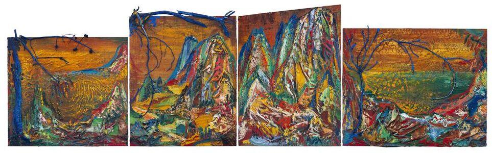 Yin Zhaoyang 尹朝阳, 'Blue - green Mountains', 2019