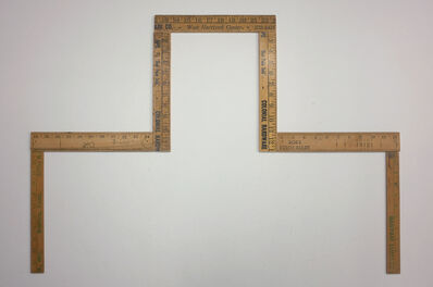 Hamish Fulton, 'SEVEN PIECES OF WOODEN RULER FOR: A SEVEN DAY WALK IN NORTHEASTERN CALIFORNIA USA. OCTOBER FULL MOON 1981', 1946