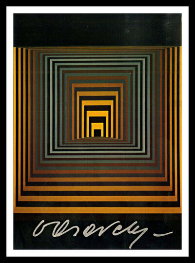 Victor Vasarely, 'VONAL-S=S.Z (Hand Signed)', 1968