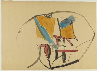 George Fullard, 'Abstract Head', Date Unknown