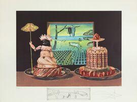 Salvador Dalí, 'The 'I Eat Gala's' (Les 'Je Mange Gala)', 1971