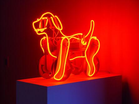 Michael Flechtner, 'Clifford (Neon Pull Toy)', 2013