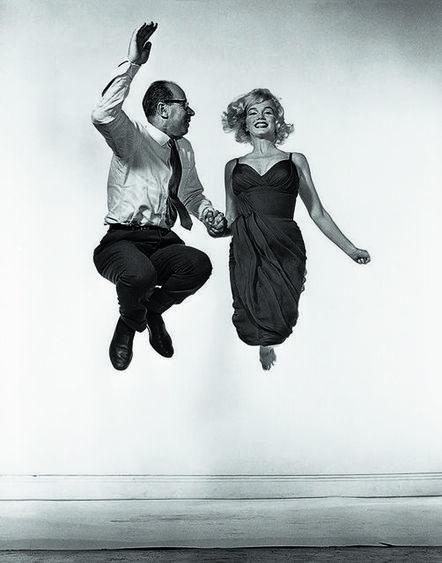 Philippe Halsman, 'Marilyn Monroe Jump', 1954