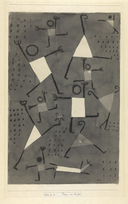 Paul Klee, 'Danses sous l'empire de la Peur', 1938