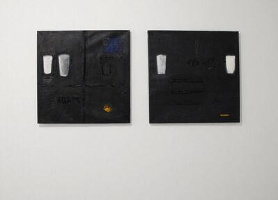Endale Desalegn, 'Diptych, Milk and Darkness 9 (Witet/Chiema 9) (left) and Milk and Darkness 7 (Witet/Chiema 7)', 2014