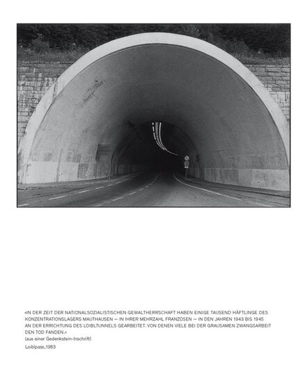 Seiichi Furuya, 'Staatsgrenze 1981-1983 (Loiblpass)', 2016