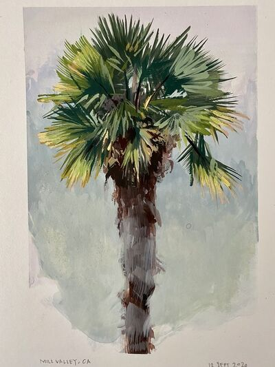 Ondrea Vicklund, 'Mill Valley Palm', 2020