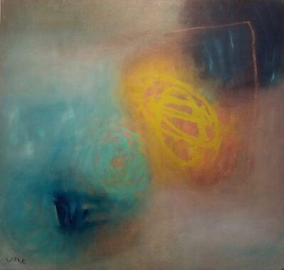 Ulla Neigenfind, 'Enigma: Aqua, Pthalo, Yellow Green', 2017