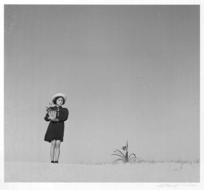 Shoji Ueda, 'Kako and a Flower', 1949