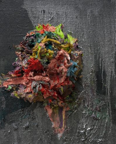 Kim Dorland, 'Self-portrait', 2013