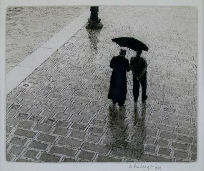 Wilfred Fairclough, 'Conversation Zattere, Venice', 1983