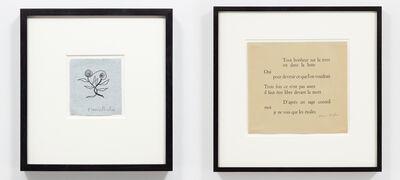Francis Picabia, 'Exhibition 'Assortiment de Dessins de Francis Picabia'', 1952
