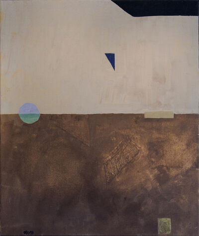 Otto Rogers, 'Floating Triangle With a Circle in a Landscape', 1998
