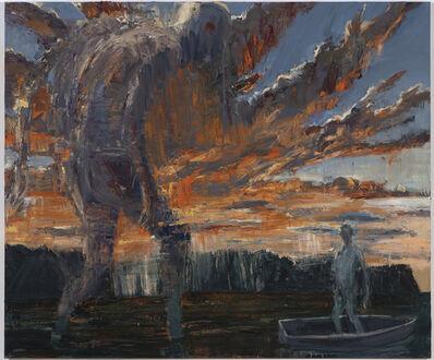 Euan Macleod, 'Red sky at night sailor delight', 2019