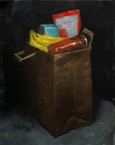 Tom Giesler, 'Health Study 23: quarantine groceries', 2020