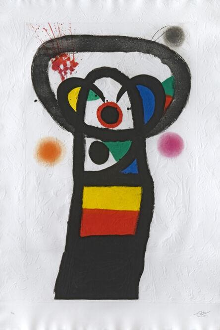 Joan Miró, 'Le Poète assassiné (1239)', 1981