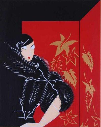 Erté (Romain de Tirtoff), 'Furs', 1974