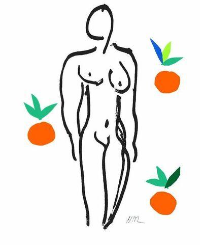 After Henri Matisse, 'Nu aux Oranges', ca. 2007