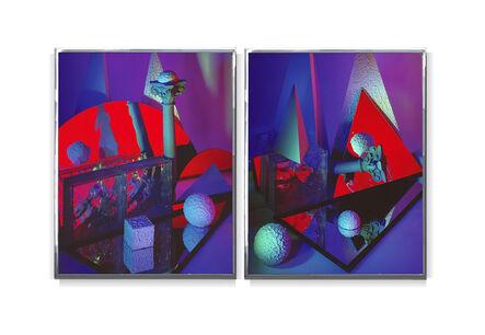 Barbara Kasten, 'Construct 31 Diptych', 1986