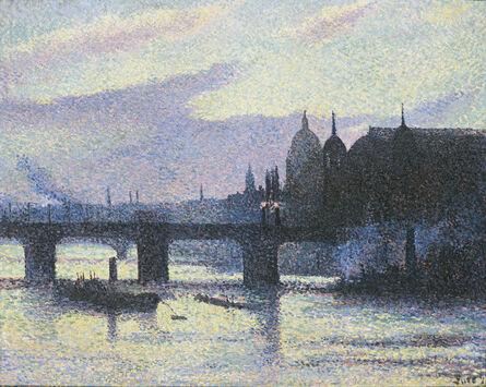 Maximilien Luce, 'Vue de Londres (Canon Street)', 1893