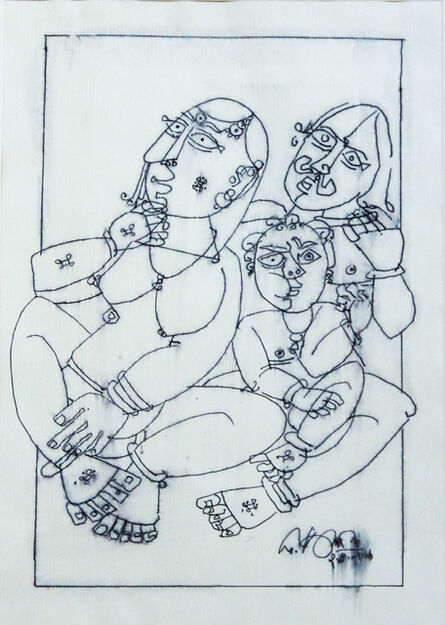 G. Raman, 'Family (Homage to Picasso)', 2006