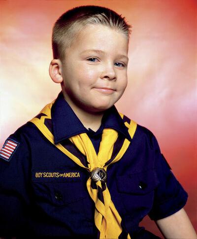 Andres Serrano, 'Boy Scout John Schneider, Troop 422 (America)', 2002