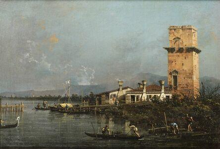 Canaletto, 'Torre di Malghera'