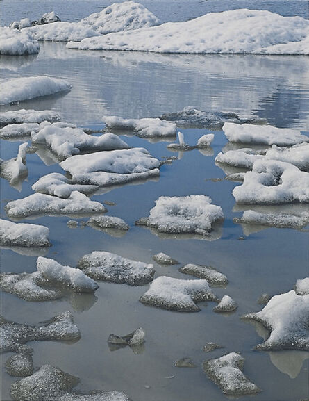 Eliot Porter, 'Ice in Glacial Lake, Fjnllsarlon, South Coast', 1975