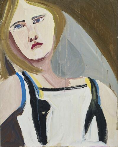 Chantal Joffe, 'Blonde in a Sleeveless Dress', 2016