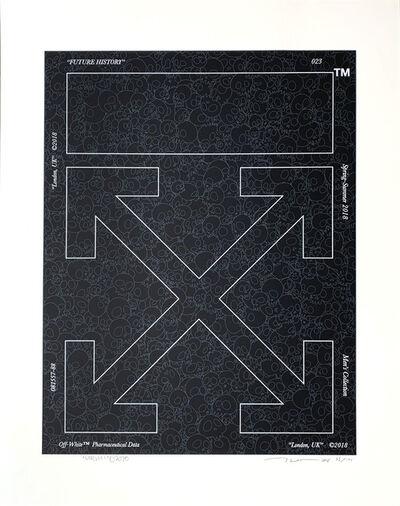 Takashi Murakami, 'Memento Mori Stone Black', 2018